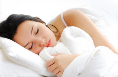 good night sleep with memory foam mattress