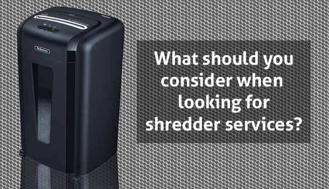 shredder service