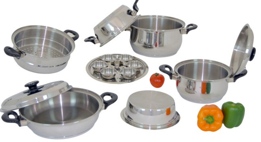 Surgical Stainless Steel Cookware Benefits