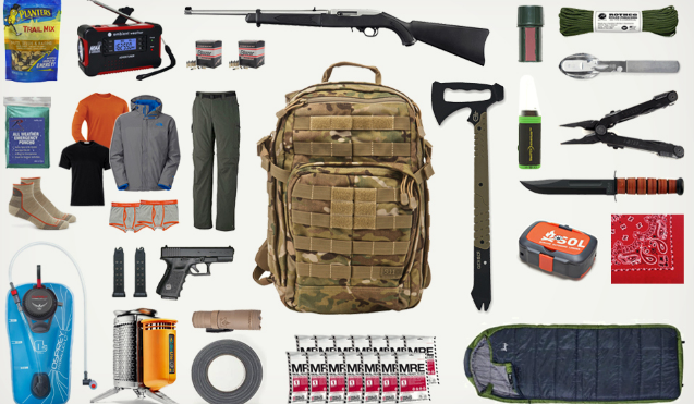Bug Out Bag List – Free 160 Item Bug Out Bag Checklist