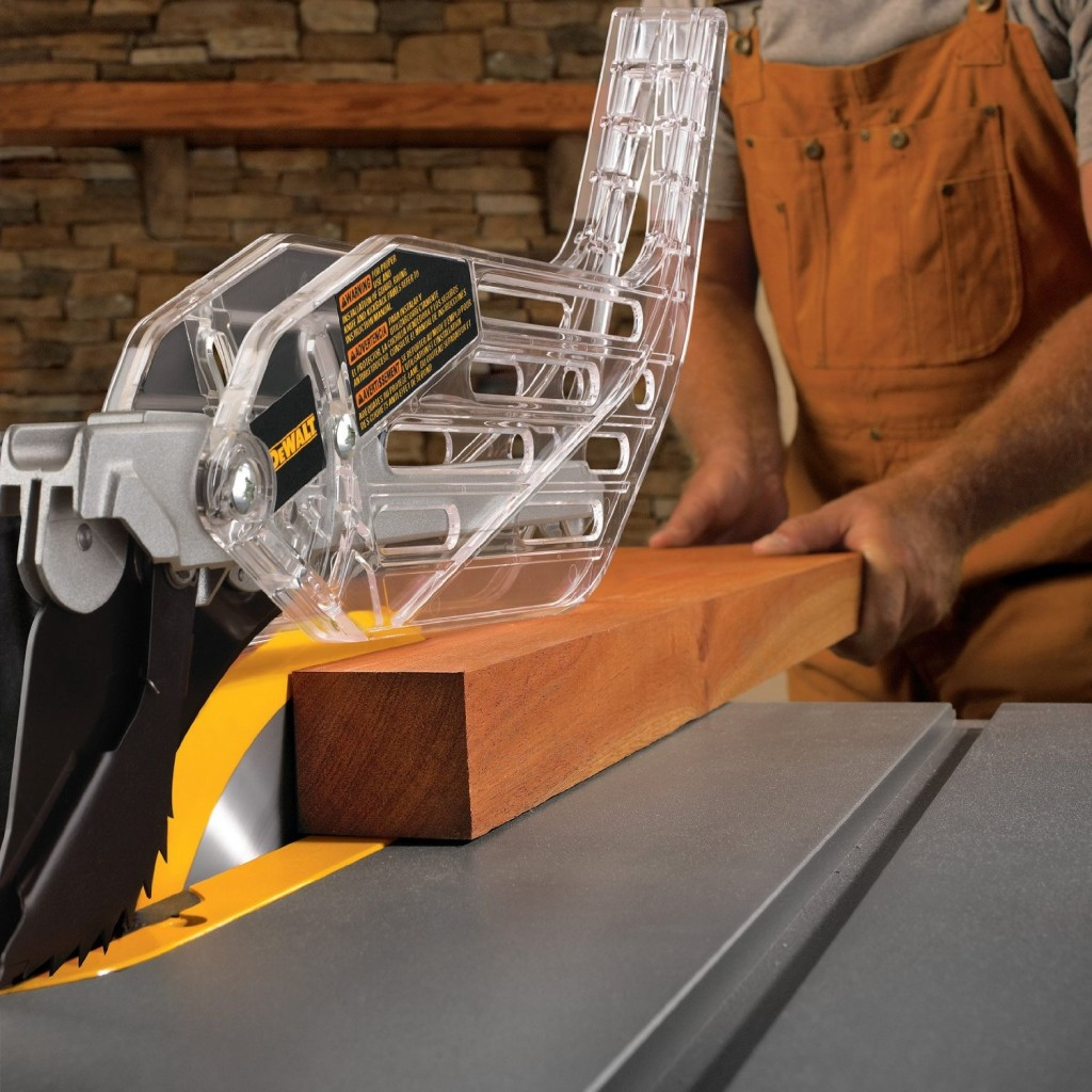Tips for safe use of table saws
