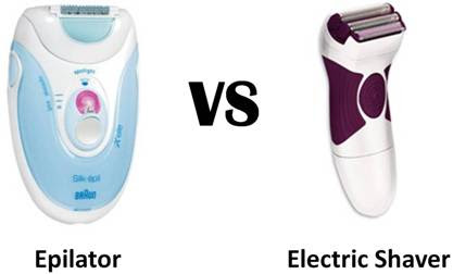 Difference Between Epilator Electric Shaver