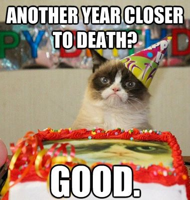 Grumpy Cat Birthday Meme 1 200 funniest birthday memes for you *top collections !,Halloween Happy Birthday Meme