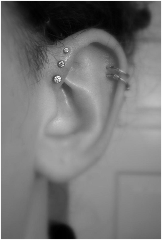 The Double Helix + Triple Forward Helix