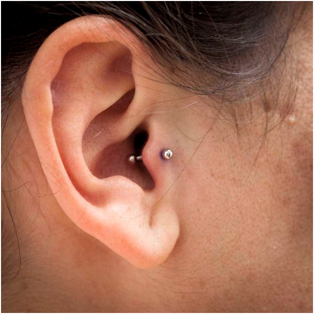 The Tragus Piercing