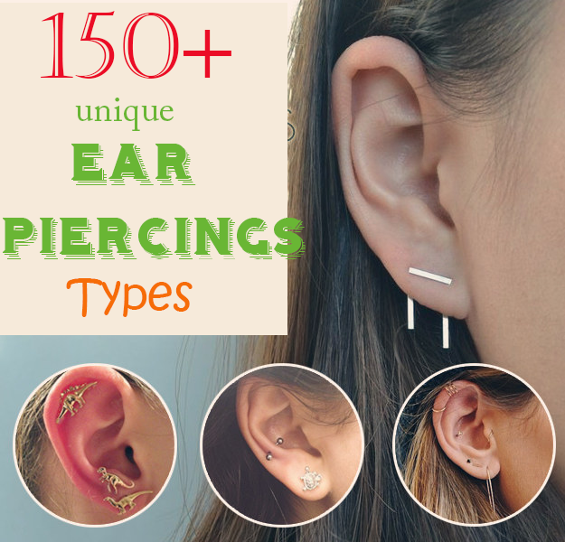 Top 150+ Ear Piercing Types