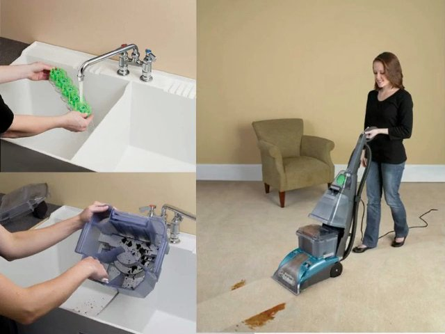 Hoover Steamvac Silver Carpet Cleaner - Carpet Vidalondon