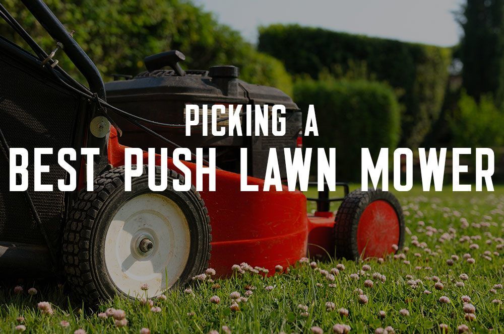 Best Push Lawn Mower reviews