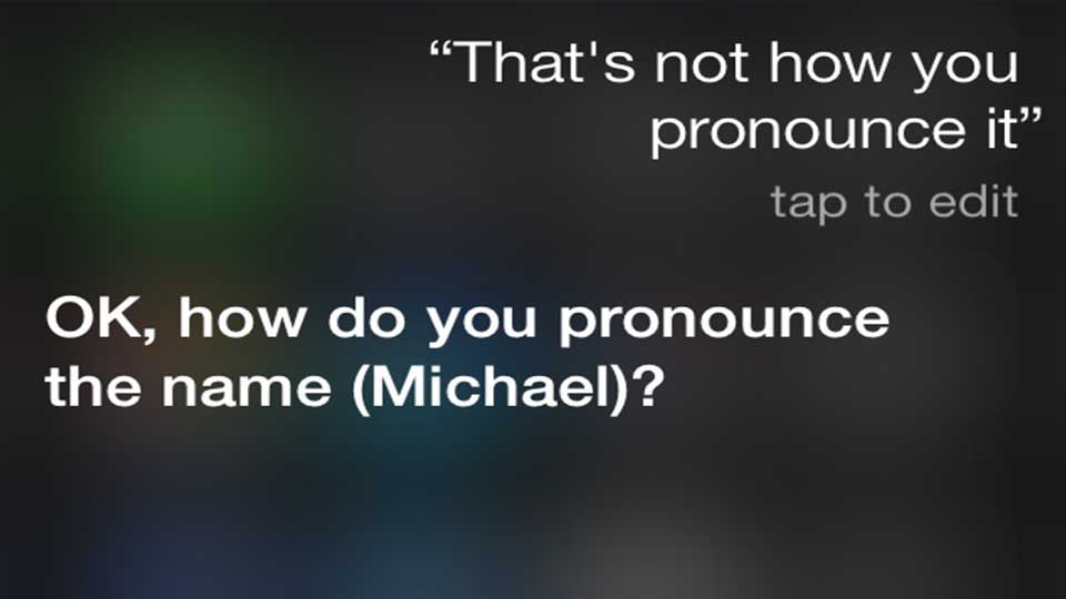 funny thing to ask siri