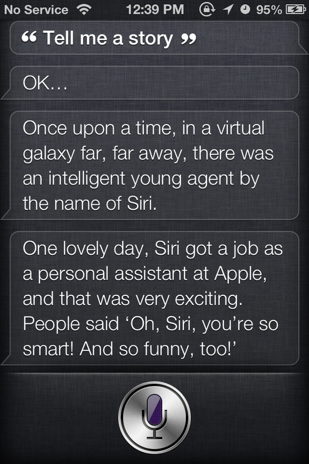 dating show funny questions for siri