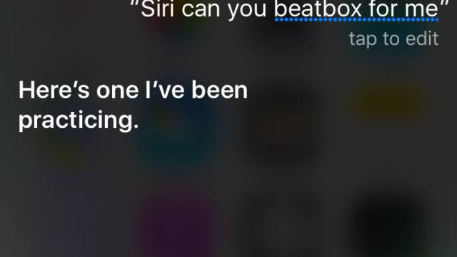 siri play beatbox