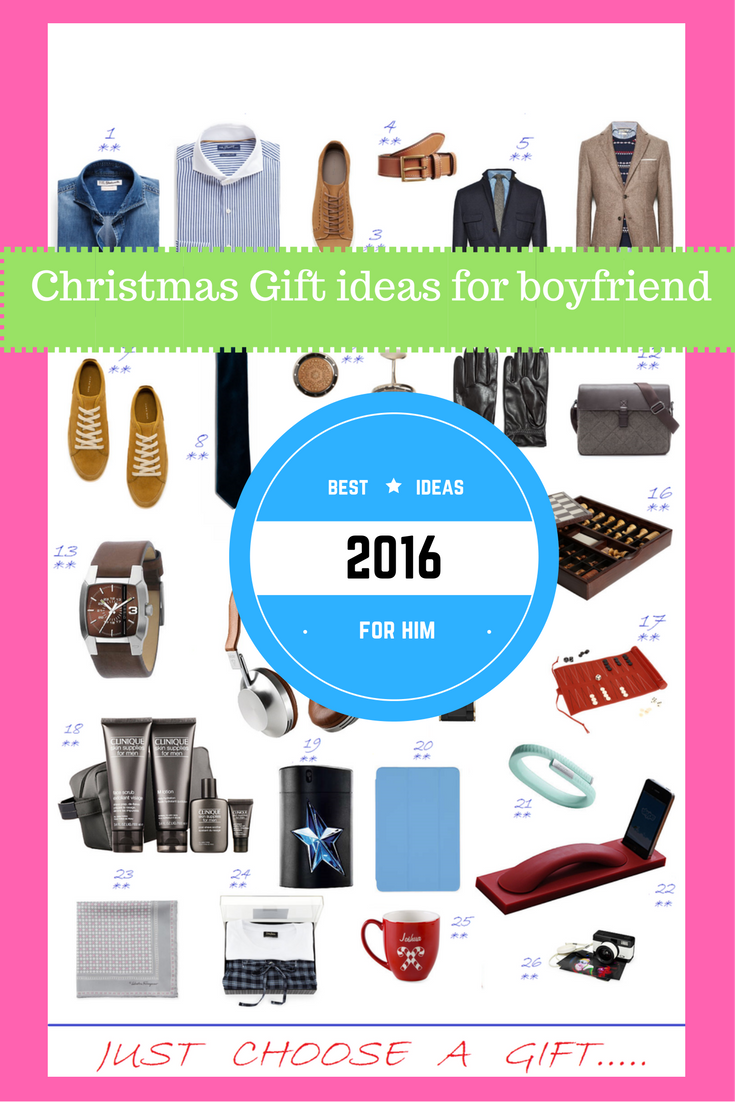 95+ [BEST] Christmas Gifts Ideas for Boyfriend & Husband in 2017