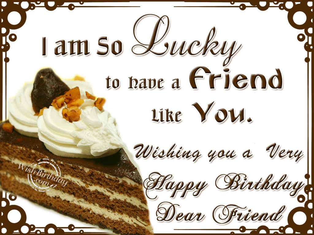 Happy Birthday Friend Wishes, Messages, Cards - Facebook