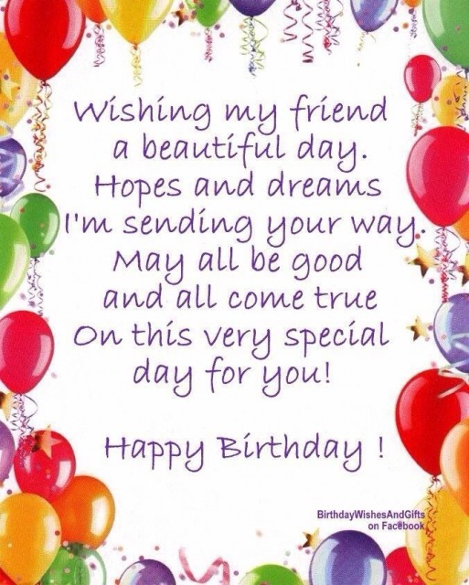 250 Happy Birthday Wishes For Friends Must Read Happy Birthday Wishes For A Friend Images