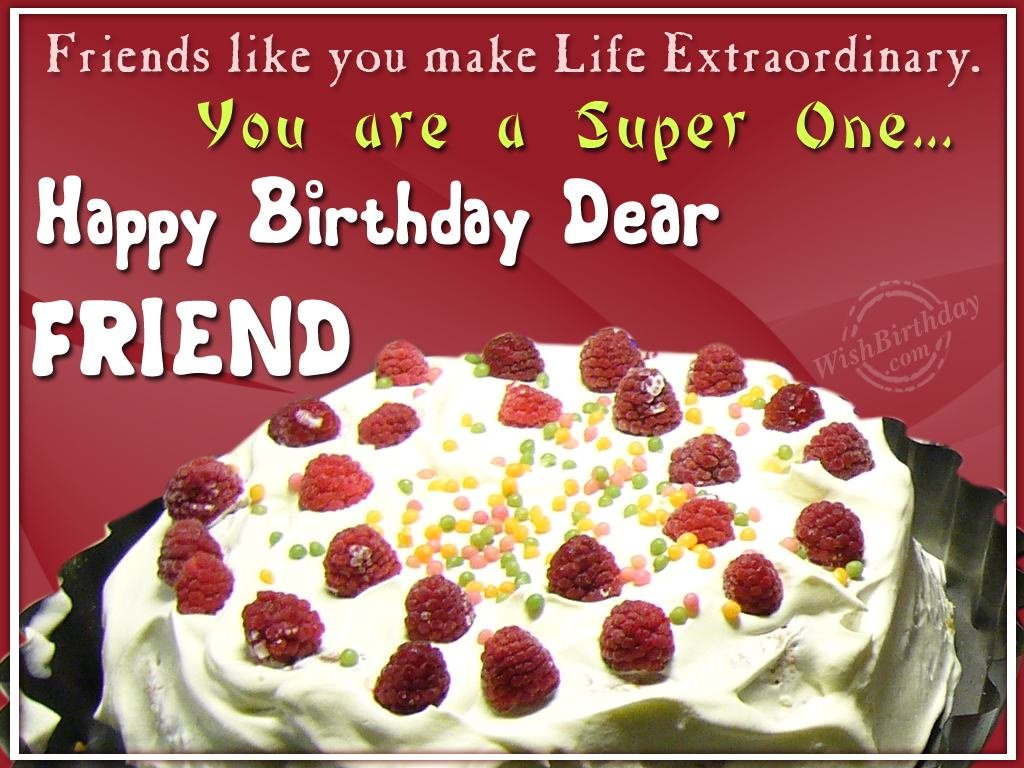 best friend birthday wish