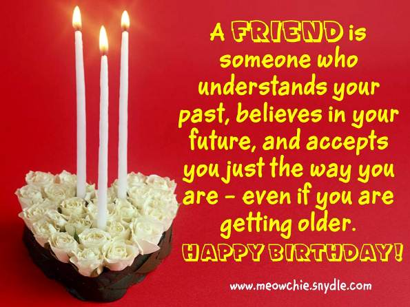 birthday wishes for friend 2017