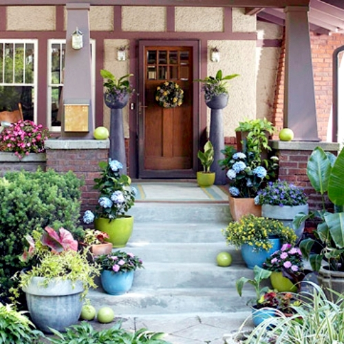 Surround your house with a perfect garden d cor for Creating a beautiful garden