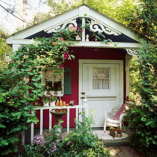 Discover A New Way To Revamp Your Shed Side Garden