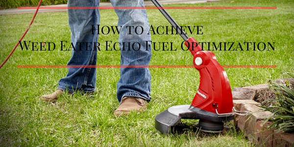 How to Achieve Weed Eater Echo Fuel Optimization