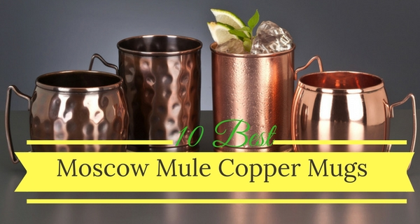 10 Best Moscow Mule Copper Mugs