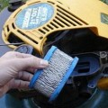 change mower air filter