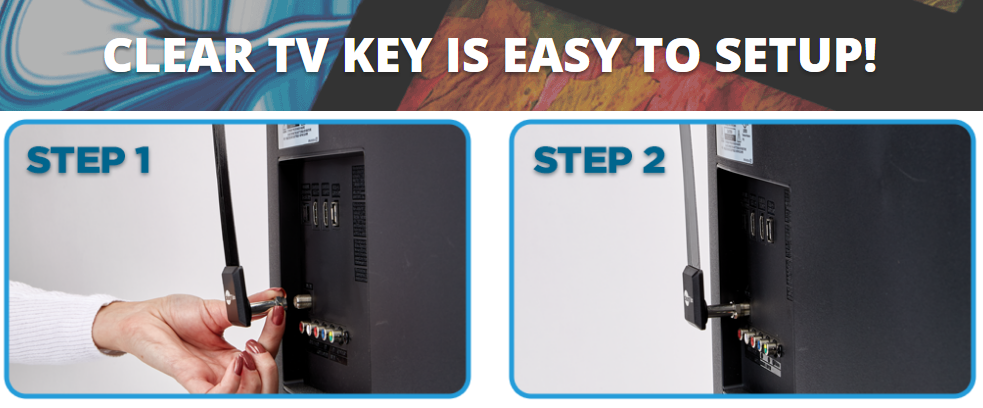 clear tv key setup