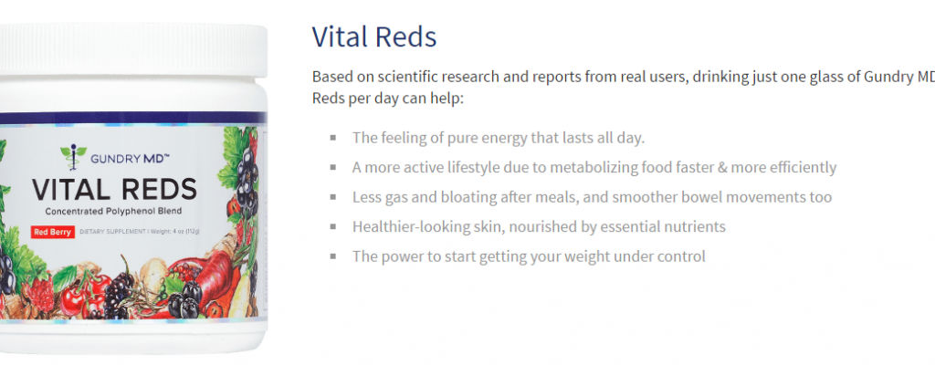 Vital Reds by Gundry MD Reviews
