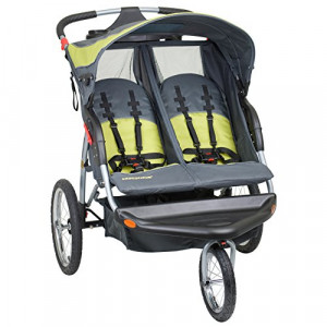 Double-Fixed-Wheel-Jogger-Strollers