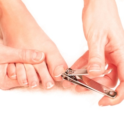 trimming-toenails