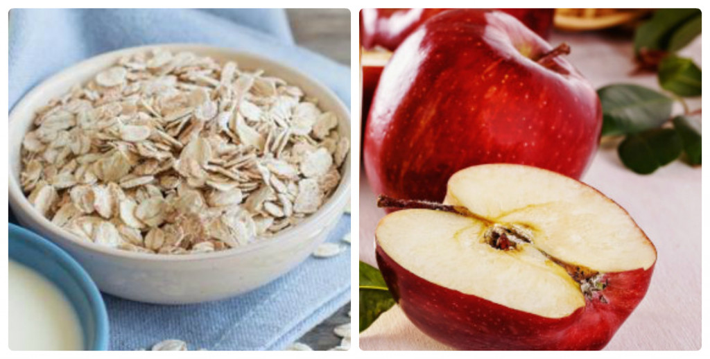 oats and apple