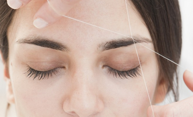 Threading Eyebrows Tips and Technique