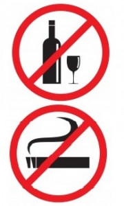 No Smoking-No Drinking