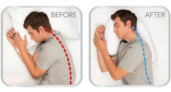 SideSleeper Pro Neck And Back Pillow