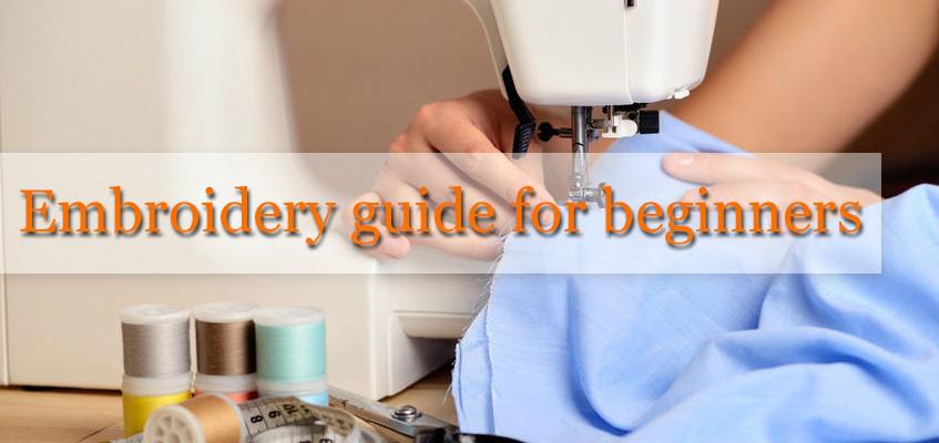 Some Interesting Supplies for Machine Embroidery for Beginners