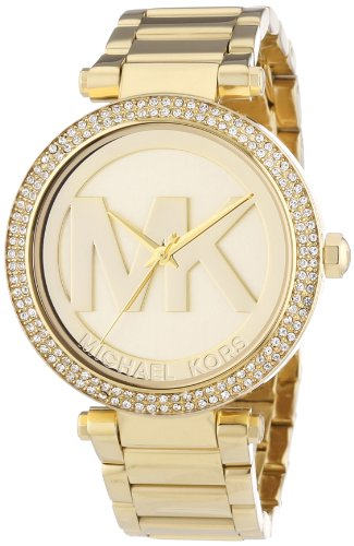 Michael Kors Quartz Gold Round Dial Water