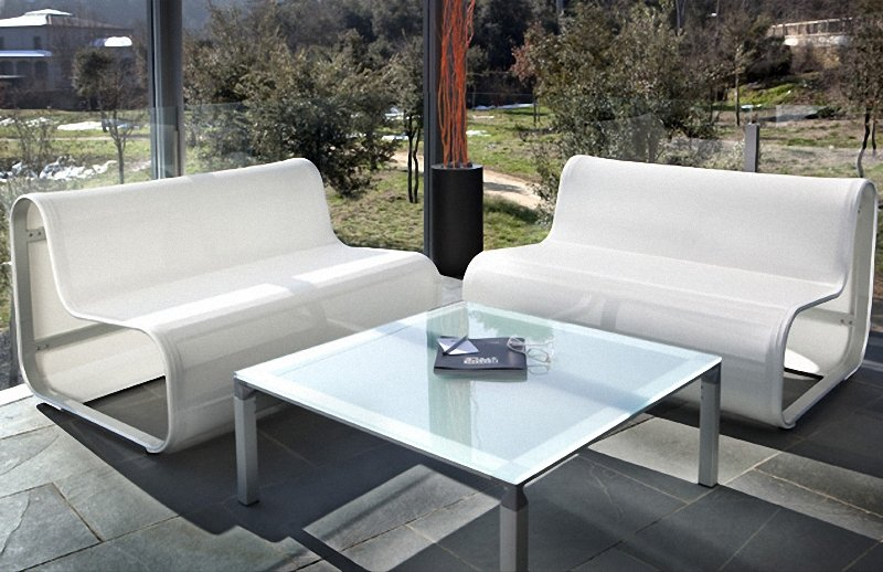 Modern Aluminum Patio Chairs