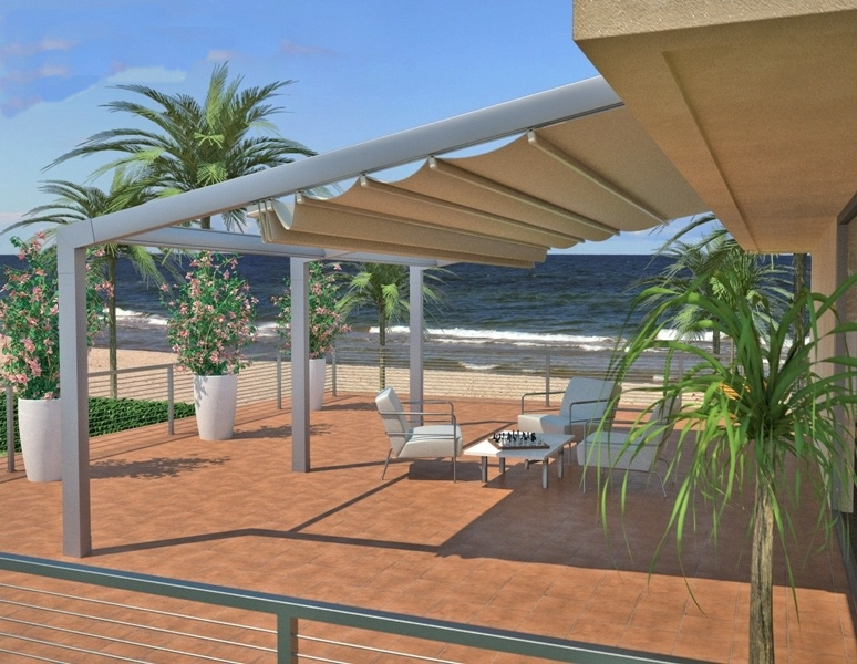 Beautiful Retractable Patio Awnings