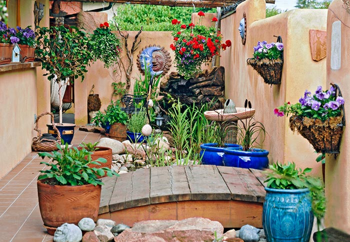 Small Space Garden Concepts