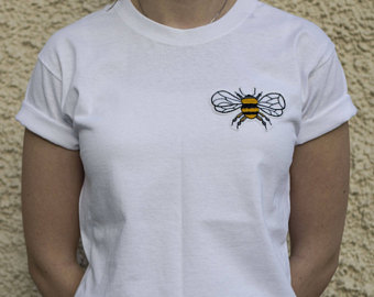T- shirt embroidery