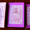Tips for making Greeting Cards With the Embroidery Machine