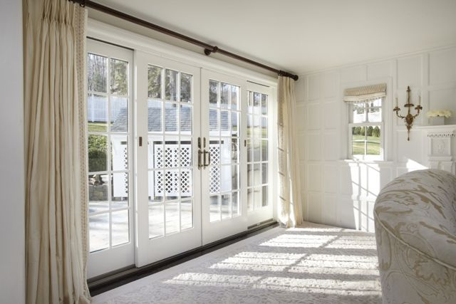 White French Patio Doors