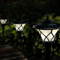 landscaping garden shed light on solar garden light