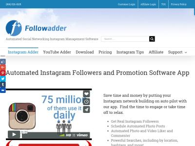 FollowAdder insta bot