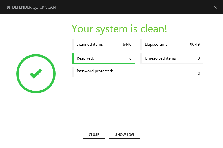 clean system report